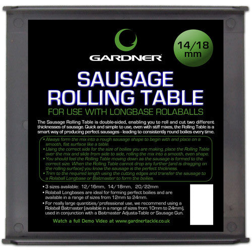 Gardner Rolling Table - Vale Royal Angling Centre
