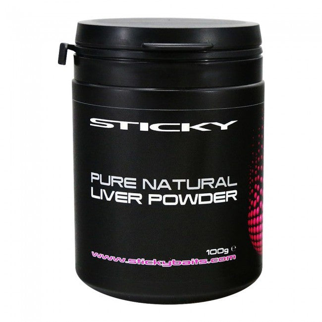 Sticky Baits Pure Natural Liver Powder - Vale Royal Angling Centre