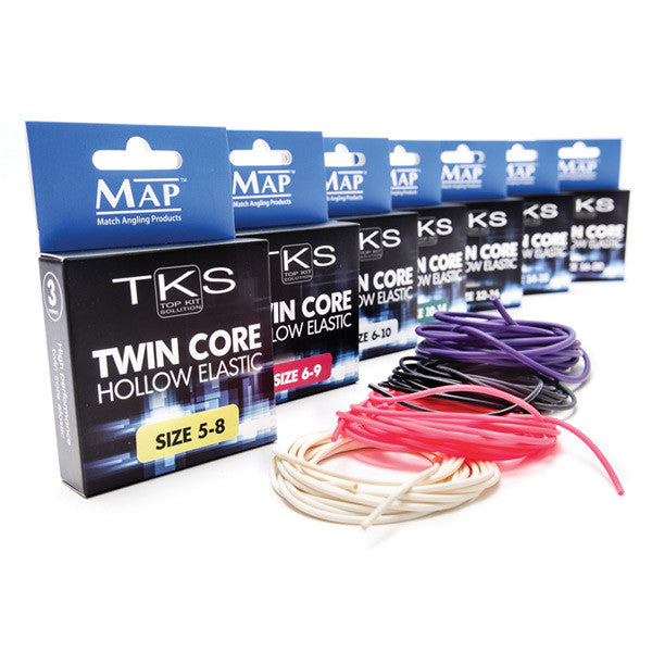 MAP TKS Twin Core Hollow Elastic - Vale Royal Angling Centre