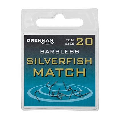 Drennan Barbless Silverfish Match