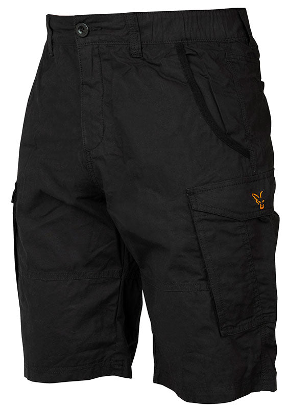 Fox Collection Black/Orange Combat Shorts