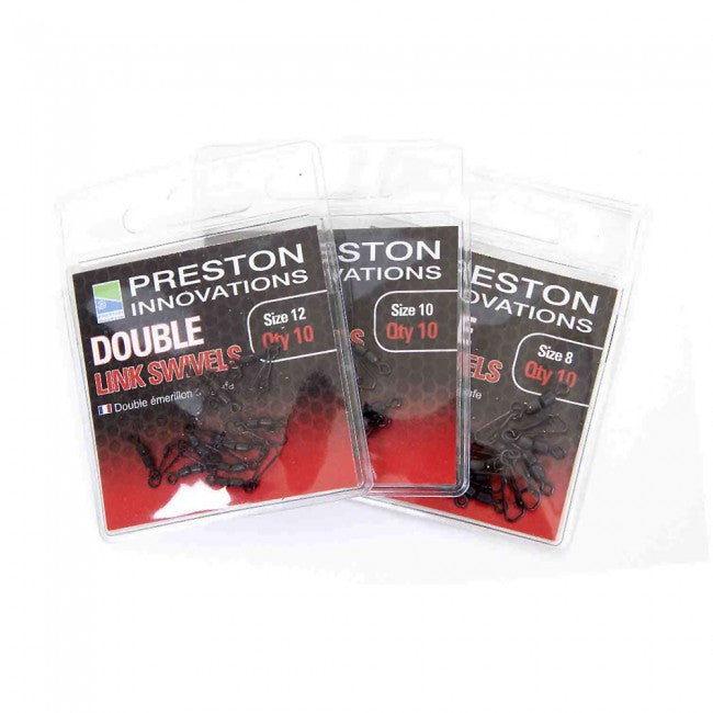 Preston Innovations Double Link Swivels - Vale Royal Angling Centre