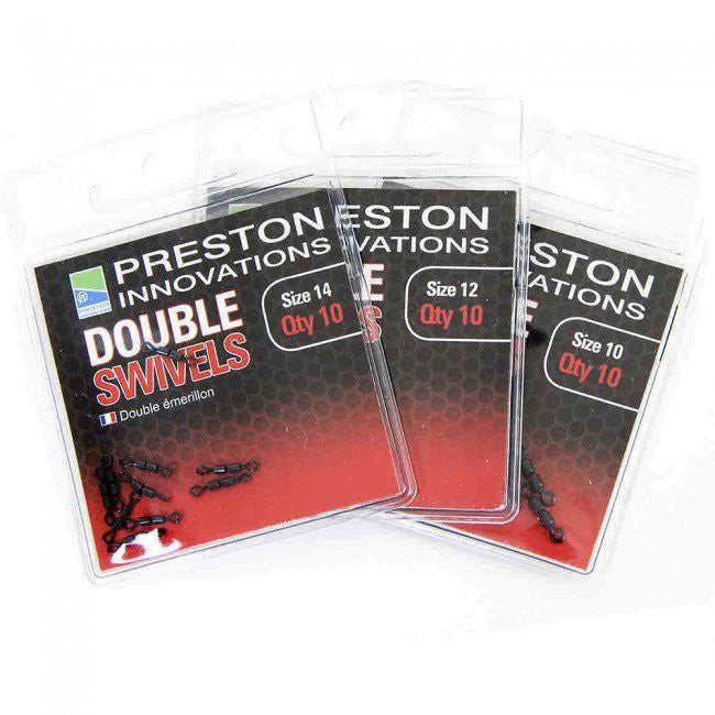 Preston Innovations Double Swivels - Vale Royal Angling Centre