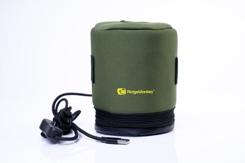 Ridgemonkey Ecopower USB Gas Canister Cover - PRE ORDER