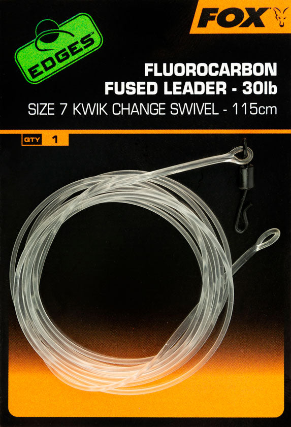 Fox Fluorocarbon Fused Leader 30lb