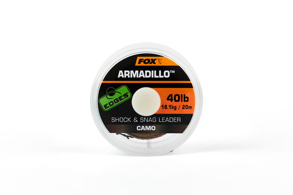 Fox Armadillo Camo Shock & Snag Leader