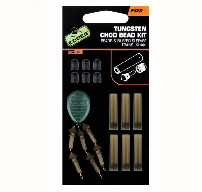 Fox EDGES™ Tungsten Chod Bead Kit - Vale Royal Angling Centre