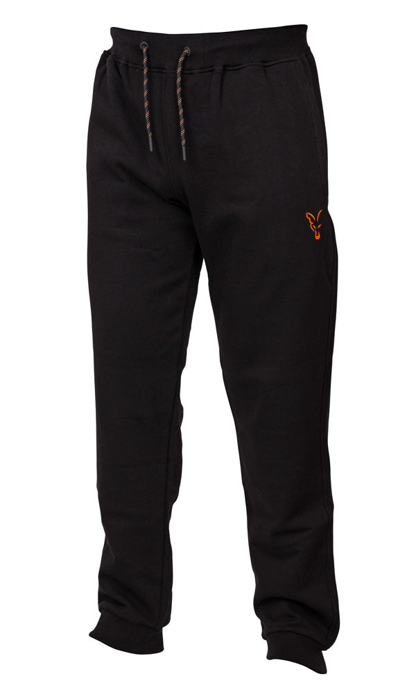 Fox Collection Black/Orange Joggers