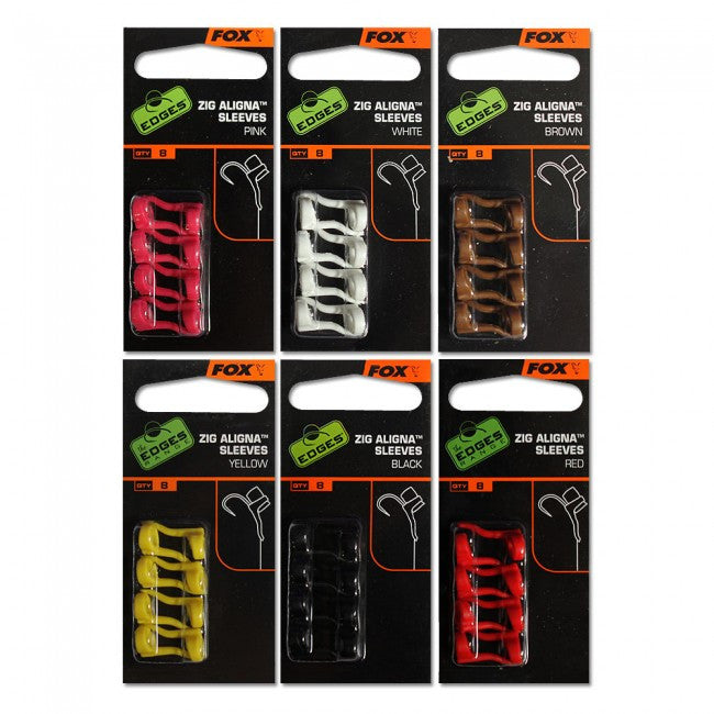 Fox EDGES™ Zig Aligna™ Sleeves - Vale Royal Angling Centre