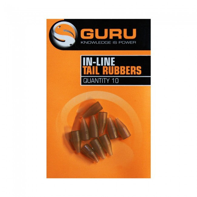 Guru In Line Tail Rubbers - Vale Royal Angling Centre