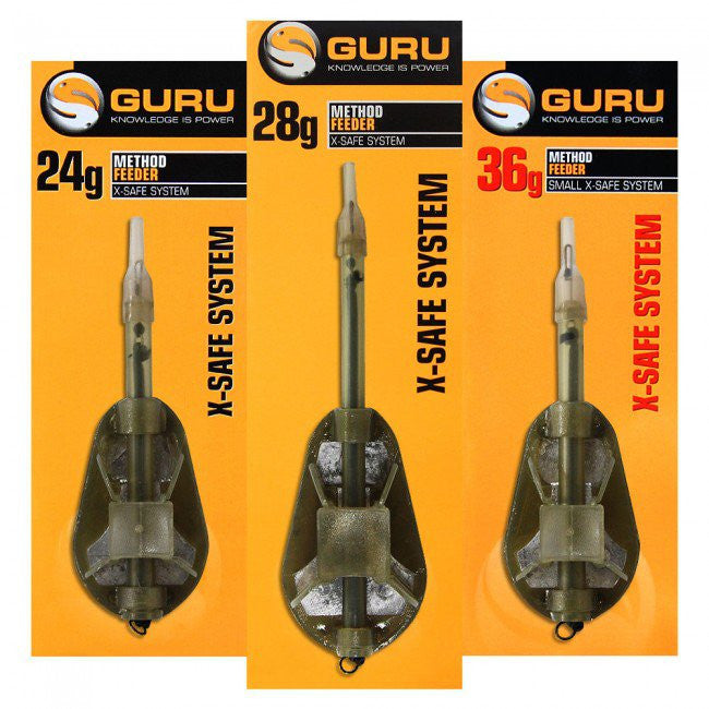 Guru X-Safe Method Feeders - Vale Royal Angling Centre