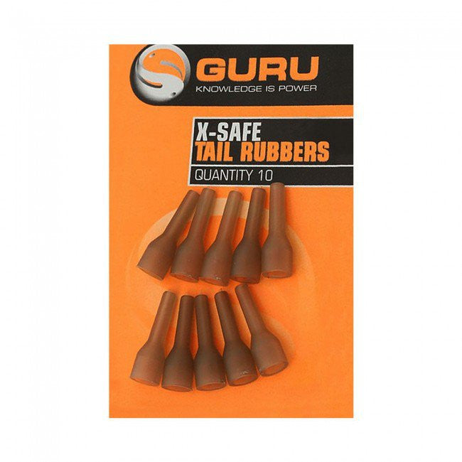 Guru X-Safe Tail Rubbers - Vale Royal Angling Centre