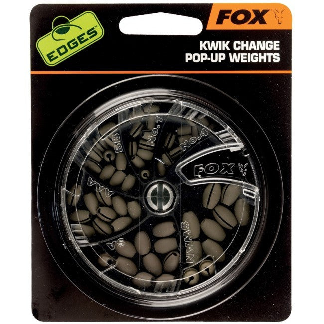 Fox EDGES™ Kwik Change Pop Up Weights - Vale Royal Angling Centre