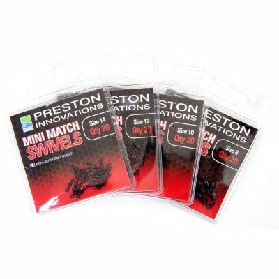 Preston Innovations Mini Match Swivels - Vale Royal Angling Centre