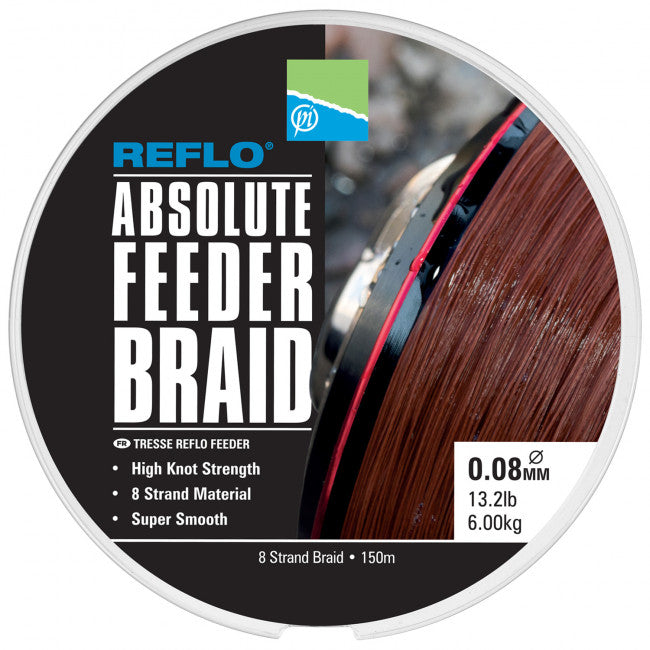 Preston Absolute Feeder Braid - Vale Royal Angling Centre