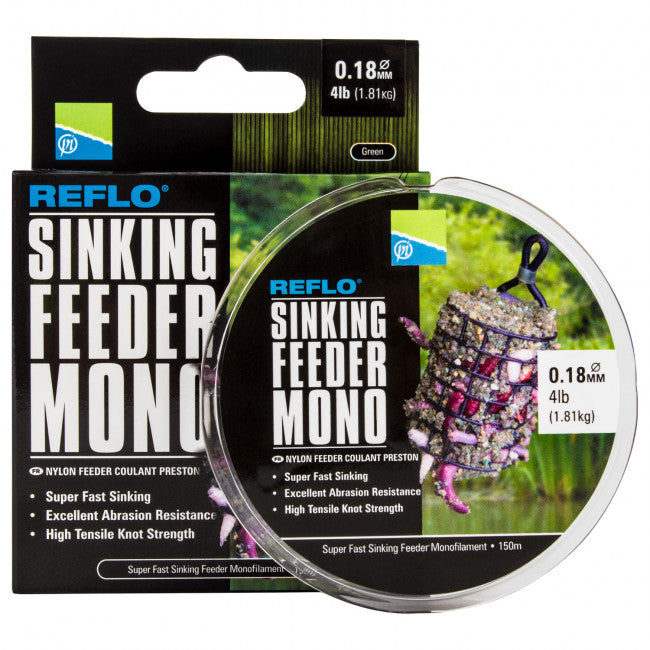 Preston Reflo Sinking Feeder Mono - Vale Royal Angling Centre
