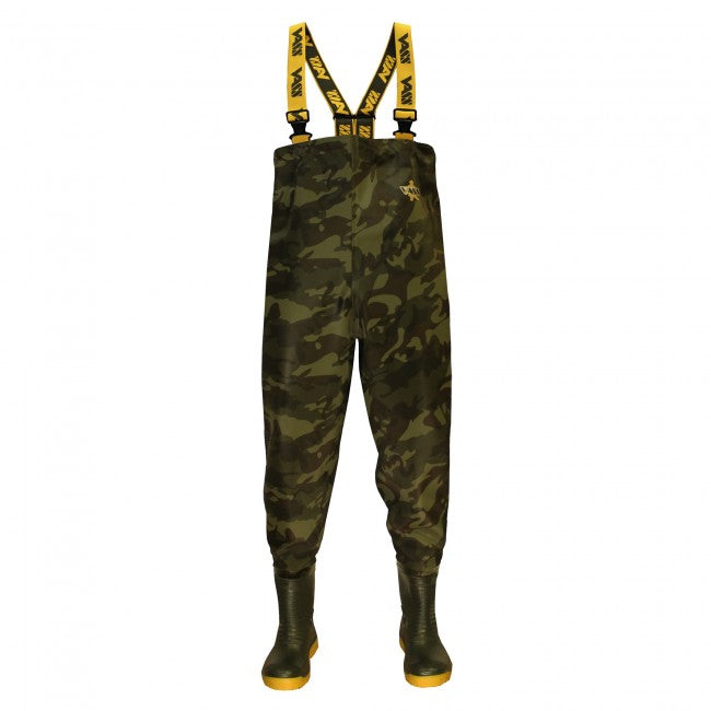 Vass-Tex 800 Camo Chest Wader