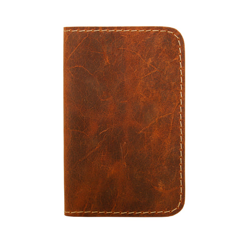 06 Passport Wallet | Shaded Brown