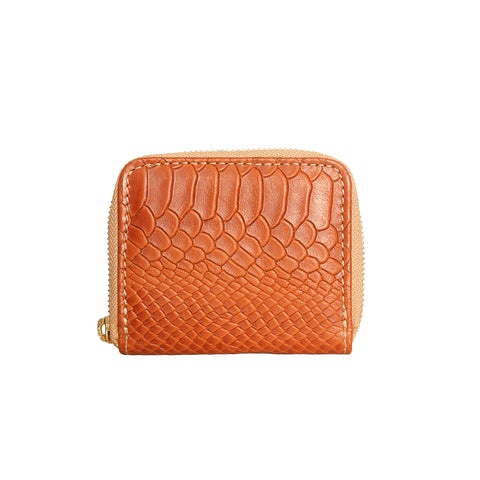 05 Little Wallet | Honey Croco