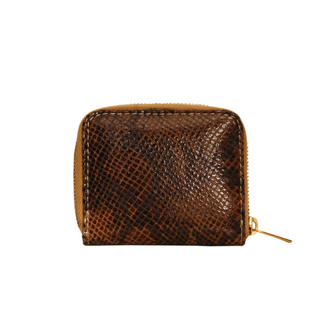 05 LITTLE WALLET | TEXTURED BROWN