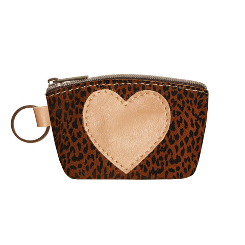 05 HEART PURSE | LEOPARD PRINT AND BEIGE