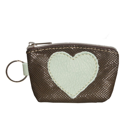 05 Heart Purse | Green