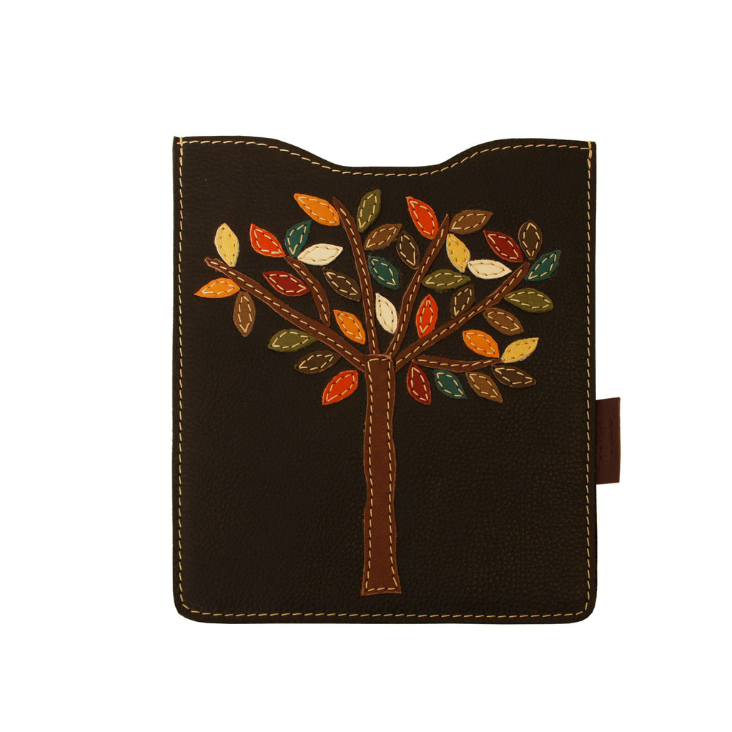 05 IPAD Case | Black w/ Brown Tree