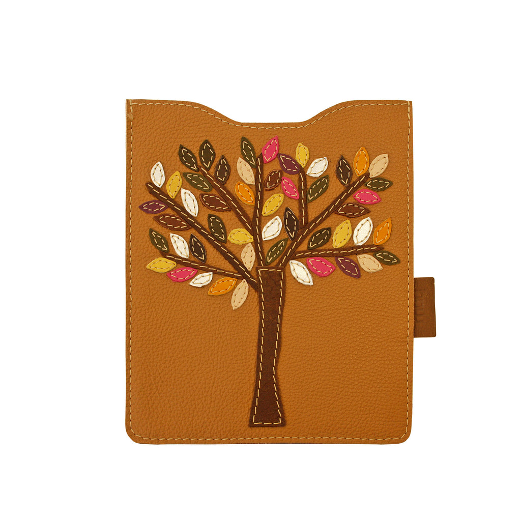 05 IPAD Case | Beige w/ Tree