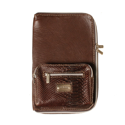 05 IPAD Case | Brown Croco
