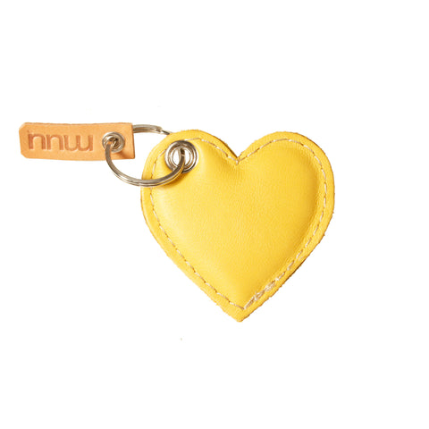 05 Keychain | Yellow & Green Heart