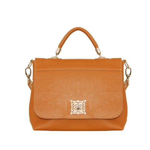 01 HANDBAG TORNIQUETE | CAMEL LEATHER
