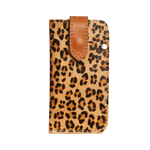 05 CELLPHONE/ GLASSES CASE | LEOPARD PRINT