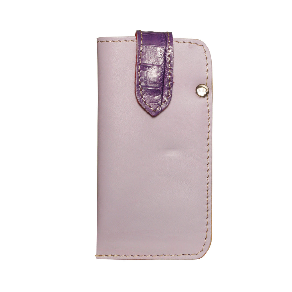 05 CELLPHONE/ GLASSES CASE | LILAC AND PURPLE