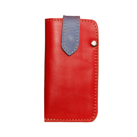 05 CELLPHONE/ GLASSES CASE | RED AND LIGHT BLUE