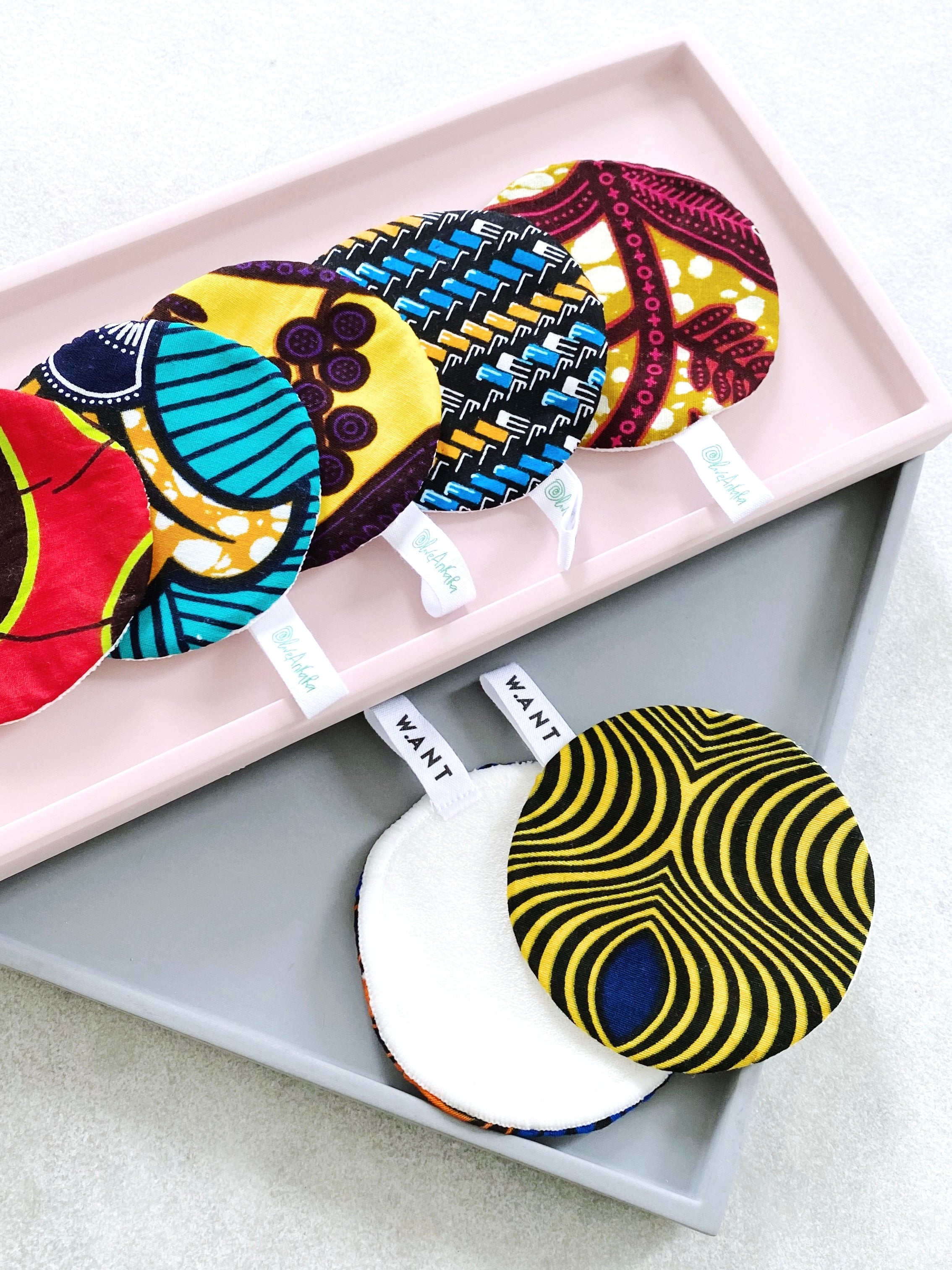 WANT x OliveAnkara Reusable Facial Pads (Limited Edition) - WANT Skincare