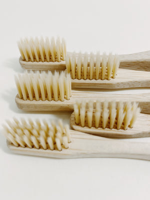 Open image in slideshow, bamboo toothbrush - WANT Skincare