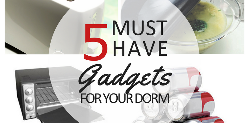 5 Must Have Gadgets You'll Want for Your Dorm Room