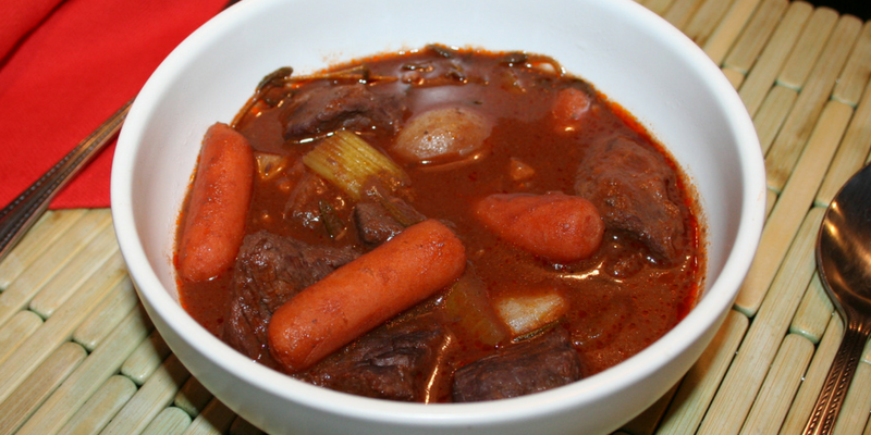 Cabernet Braised Stew Recipe