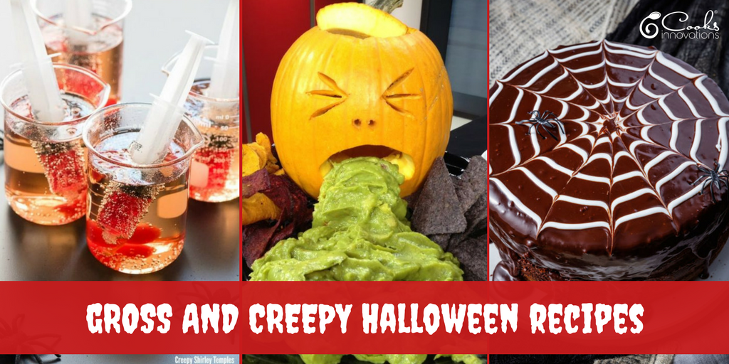8 Gross and Creepy Recipes for Halloween
