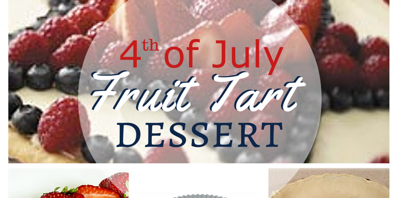 YUMMY FOURTH OF JULY FRUIT TART RECIPE
