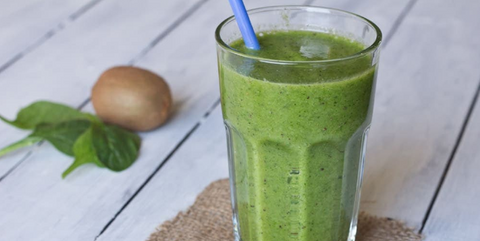 kiwi-spinach-healthy-smoothie-recipe