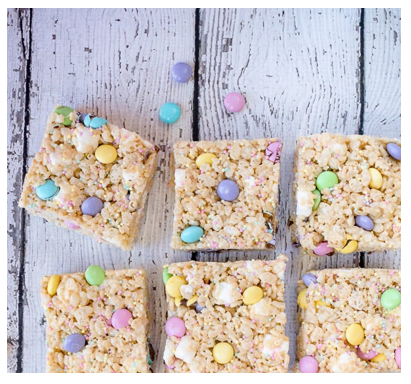easter rice krispies