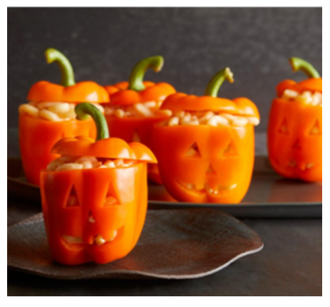 mac o lantern cheese peppers