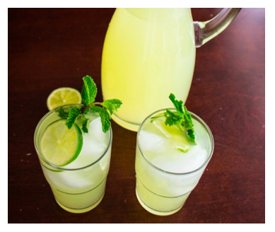mint-julep-lemonade