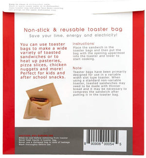 Toaster Bags 4-Pack - Non-Stick Reusable