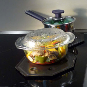 Cooks Innovations SimmerMat Heat Diffuser, Simmer Ring, and Flame Tamer for All Stove Types