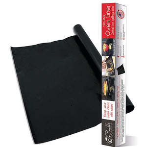 Made in USA Black Non-Stick Oven Liner 16.5x23""