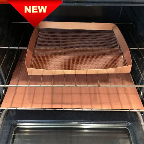 Copper Grill/Oven Basket