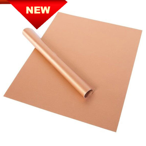 Non-Stick Copper Grill & Bake Mats - 2 Pack