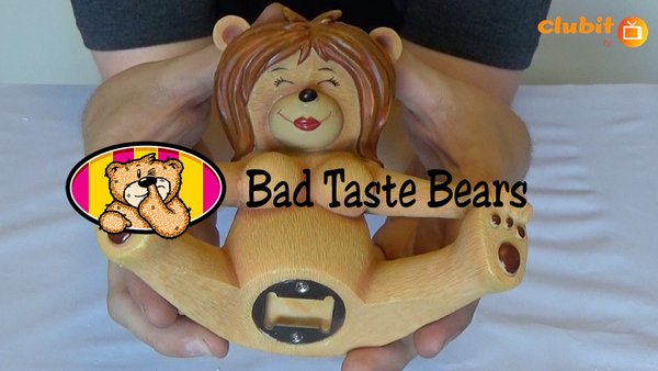 Bad Taste Bears Lydia Bottle Opener Video Review